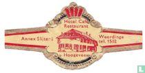 Hotel Café Restaurant Hoogeveen - Annex Slijterij - Weerdinge tel. 1502