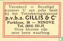p.v.b.a. Gillis & Co