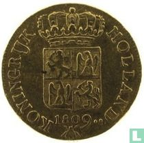 Netherlands ducat 1809 (weapon shield)
