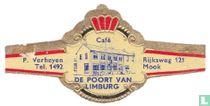 Café De Poort van Limburg - P. Verheyen Tel. 1492 - Rijksweg 121 Mook