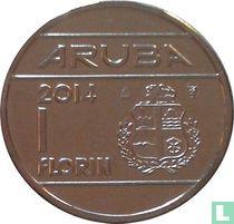 Aruba 1 florin 2014
