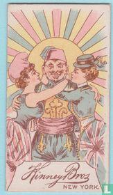 Joker USA, I9, Harlequin Insert Playing Cards, Series II, Speelkaarten, Playing Cards 1889