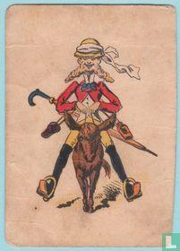 Joker USA, US9 Tourists #155 (2) Speelkaarten, Playing Cards 1886