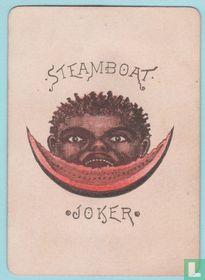 Joker USA, US7-j, Steamboat #999, Speelkaarten, Playing Cards 1883
