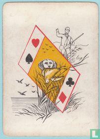 Joker USA, US2a, Sportsman's #202, Speelkaarten, Playing Cards 1886