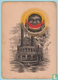 Joker USA, US7a-j, Steamboat #999, Speelkaarten, Playing Cards 1891