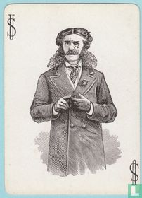 Joker USA, US6, Congress #404, Speelkaarten, Playing Cards 1881