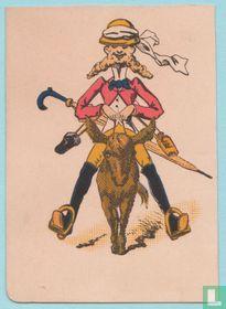 Joker USA, US9 Tourists #155 Speelkaarten, Playing Cards 1886