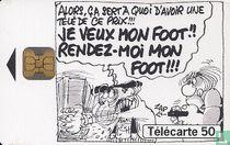 Le football vu par 4 dessinateurs: Binet