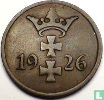 Danzig 1 pfennig 1926