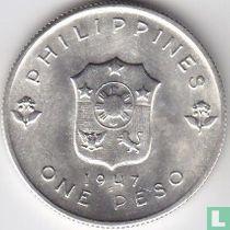 "Filipijnen 1 peso 1947 ""Liberation of the Philippines"""