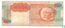 Angola 100.000 Kwanzas 1991