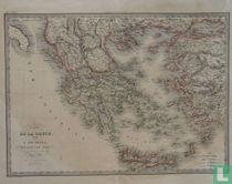 Carte De La Grèce, et de L'Archipel