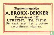 Sigarenmagazijn A. Brokx-Dekker