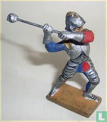 Knight with mace