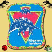Stégosaure herbivore