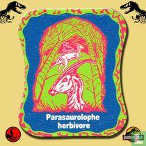 Parasaurolophe herbivore