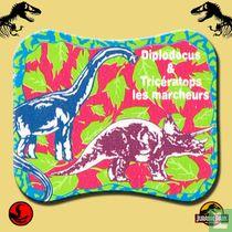 Diplodocus & Tricératops les marcheurs