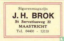 Sigarenmagazijn J.H. Brok