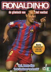 Ronaldinho de glimlach van het voetbal