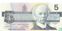 Canada 5 dollar