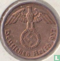 Duitse Rijk 2 reichspfennig 1937 (J)