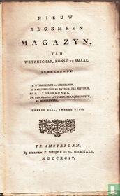 Nieuw algemeen magazyn, van wetenschap, konst, en smaak