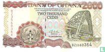 Ghana 2.000 Cedis 2002