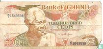 Ghana 200 Cedis 1992