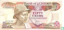 Ghana 50 Cedis 1984