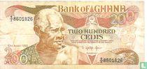 Ghana 200 Cedis 1993