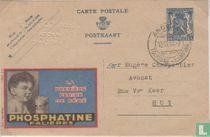 Postcard Publibel  Phosphatine