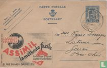 Postcard Publibel  Assimil