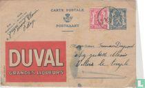 Postcard Publibel  Duval