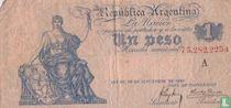 Argentinië 1 Peso 1897
