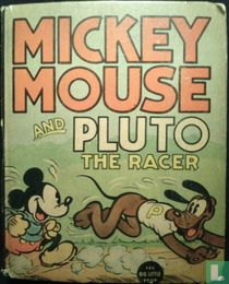 Mickey Mouse and Pluto the racer