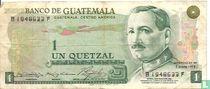 Guatamala 1 Quetzal