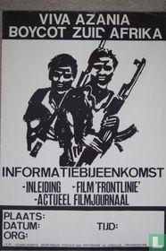 VIVA Azania Boycot Zuid Afrika