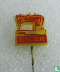 Singer [rood op geel]