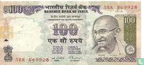 India 100 rupees (A)