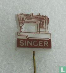 Singer [bruin op wit]