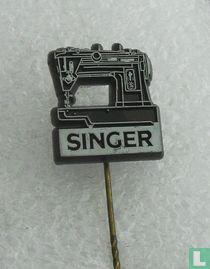 Singer [wit op zwart]