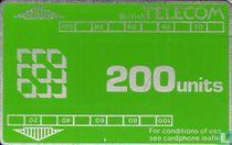 BT Phonecard 200 units