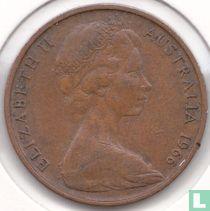 Australië 2 cents 1966 (geen klauwen afgestompt)