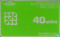 BT Phonecard 40 units