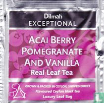 Acai Berry Pomegranate And Vanilla