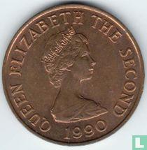 Jersey 2 pence 1990