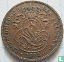 België 2 centimes 1902 (NLD)