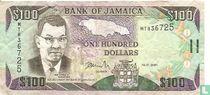 Jamaica 100 Dollars 2001
