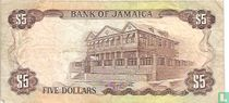 Jamaica 5 Dollars ND (1976/L1960)